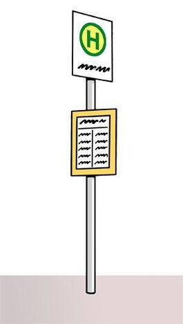 Bushaltestelle_Schild