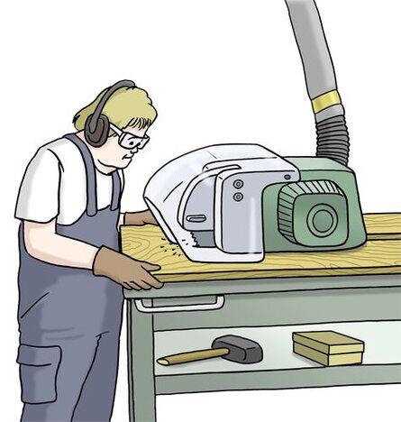 werkstatt Holzarbeit