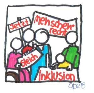 Streik_Inklusion_Gleichberechtigung_Streich