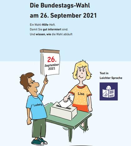 Broschüre Die Bundestags-Wahl am 26. September 2021