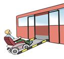 Bus mit rampe